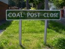 Coal Post Close road sign
